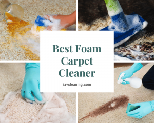 Best Foam Carpet Cleaner
