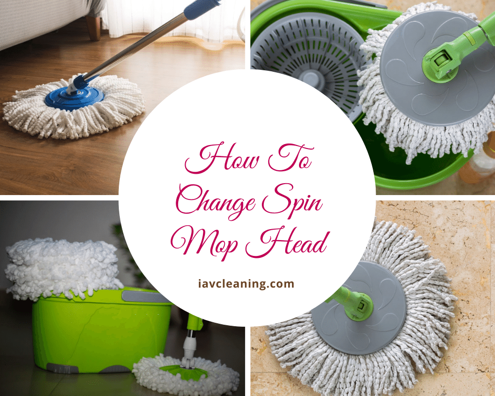 How To Change Spin Mop Head