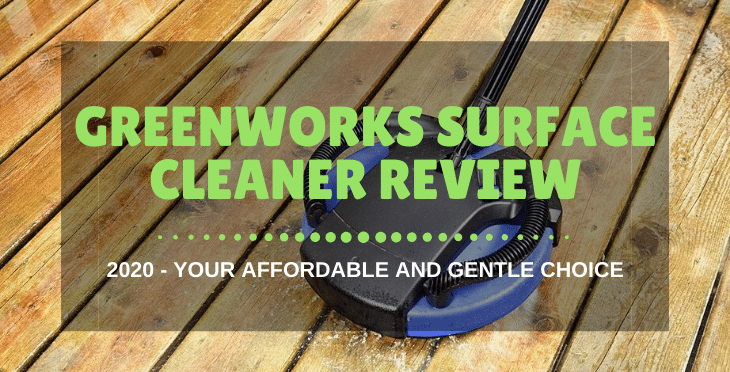 Greenworks Surface Cleaner