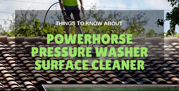 Powerhorse Pressure Washer Surface Cleaner